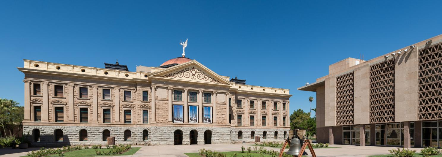 Arizona State Capitol and House of Representatives