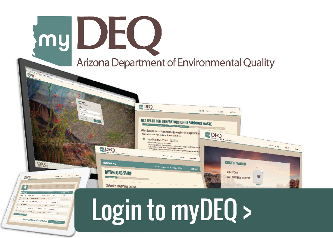 Login to myDEQ Click Here