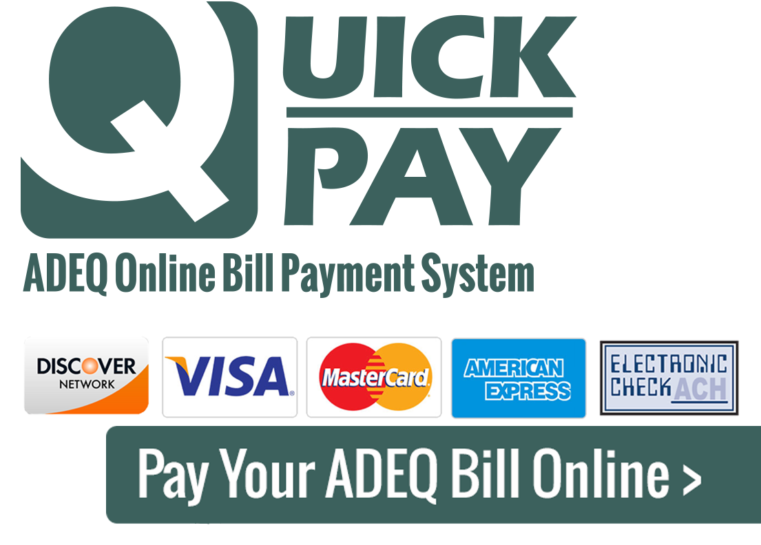 Pay Your Adeq Bill Online Adeq Arizona Department Of Environmental
