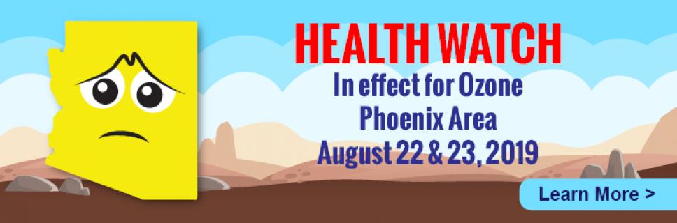 Air Quality Alert Image Ozone PHX